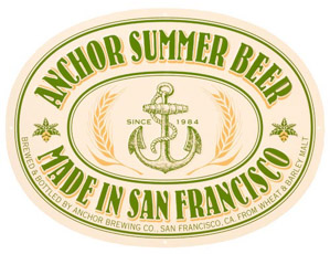 Anchor Summer Beer Logo