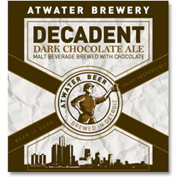 Atwater Decadent Dark Chocolate Ale Logo