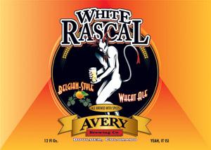 Avery White Rascal Logo