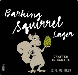 Barking Squirrel Logo
