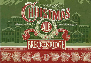 Breckenridge Christmas Ale Logo