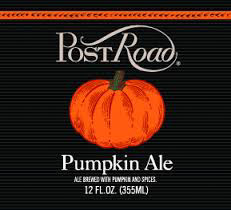 Brooklyn Post Road Pumpkin Ale Logo
