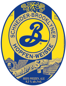 Brooklyner-Schneider Hopfen-Weisse Logo