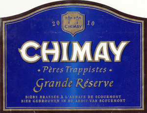 Chimay Grand Reserve Blue Cap Logo