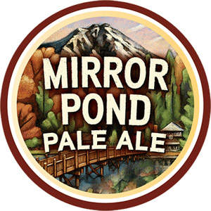 Deschutes Mirror Pond Pale Ale Logo