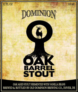 Dominion Oak Barrel Stout Logo