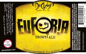 Duclaw Euforia Brown Ale Logo