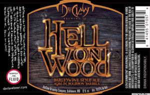 DuClaw Hell on Wood Logo