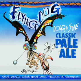 Flying Dog Pale Ale Logo