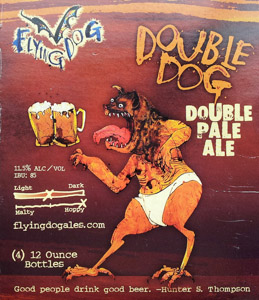 Flying Dog Double Dog Logo