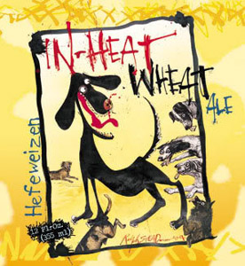 Flying Dog In Heat Wheat Logo
