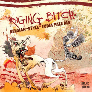 Flying Dog Raging Bitch IPA Logo