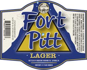 Fort Pitt Ale Logo