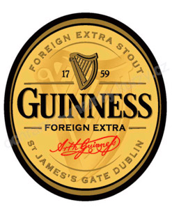 Guinness Extra Foreign Stout Logo