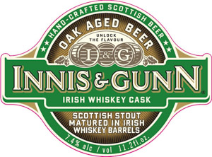 Innis & Gunn Irish Whiskey Cask Logo
