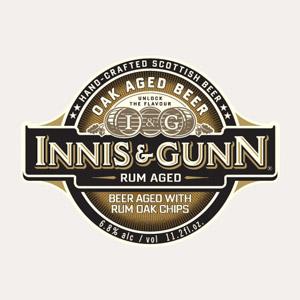 Innis & Gunn Rum Cask Oak Aged Beer Logo