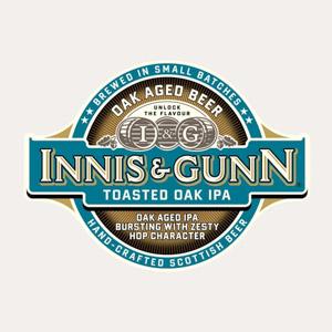 Innis & Gunn Toasted Oak IPA Logo