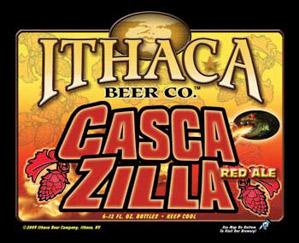 Ithaca Cascazilla Logo