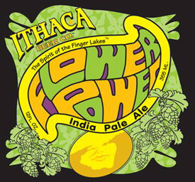 Ithaca Flower Power Logo