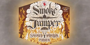 Left Hand Smoke Jumper Smoked Imperial Porter Logo