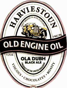 Harviestoun Old Engine Oil Logo
