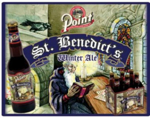 Point St. Benedict's Winter Ale Logo