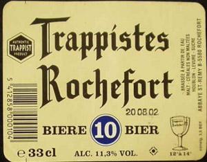 Trappistes Rochefort 10 Logo