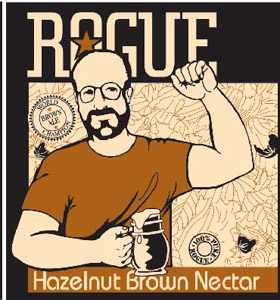 Rogue Hazelnut Brown Logo