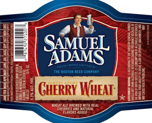 Samuel Adams Cherry Wheat Logo