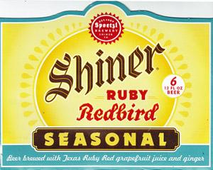 Shiner Ruby Redbird Logo