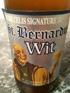 St. Bernardus Wit Logo