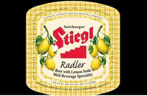 Stiegl Radler Zitrone (Lemon) Logo