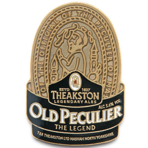 Theakston Old Peculier Logo