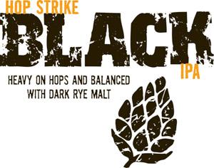 TommyKnocker Hop Strike Black IPA Logo