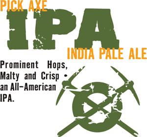 Tommyknocker Pick Axe IPA Logo