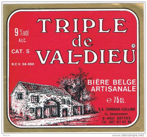 Val-Dieu Triple Logo