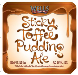 Wells Sticky Toffee Pudding Ale Logo