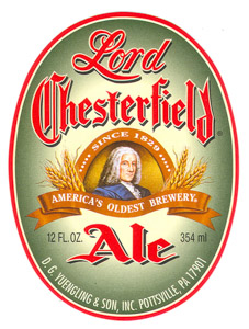 Yuengling Lord Chesterfield Ale Logo