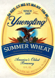Yuengling Summer Wheat Logo