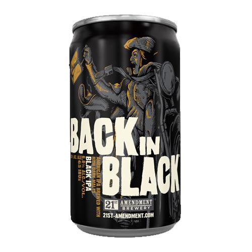 21st Amendment Back in Black Logo
