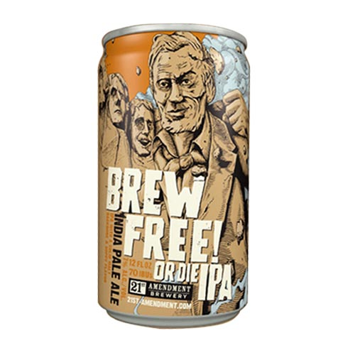 21st Amendment Brew Free or Die IPA Logo