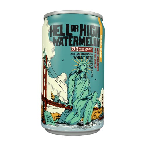 21st Amendment Hell or High Watermelon Logo