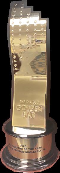 Image of the Diageo Golden Bar Award