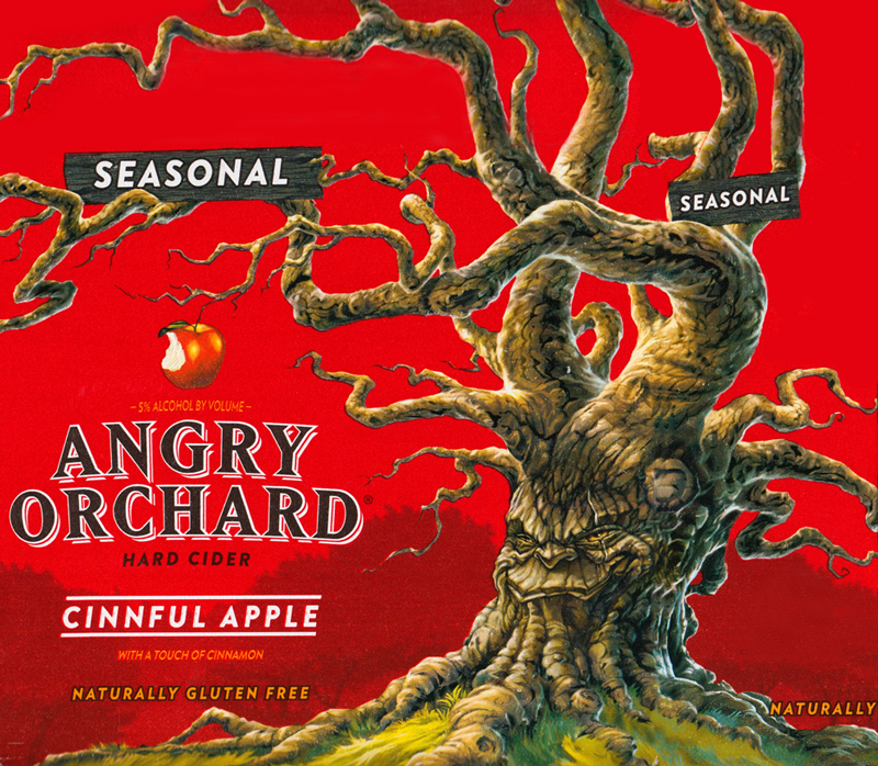 Angry Orchard CInnful Apple Logo
