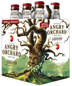 Angry Orchard Elder Flower Logo