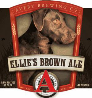Avery Ellie's Brown Ale Logo