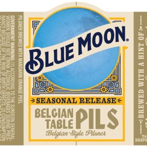 Blue Moon Belgian Table Pilsner Logo