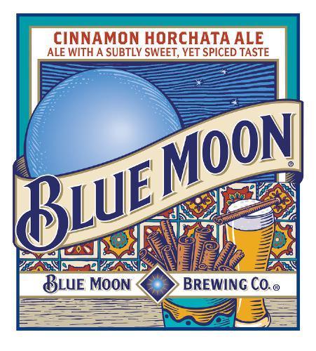 Blue Moon Cinnamon Horchata Ale Logo