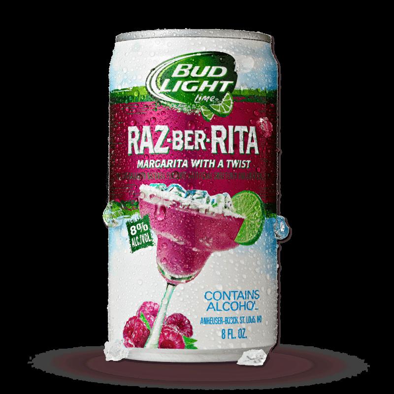 Bud Light Raz-ber-rita Logo