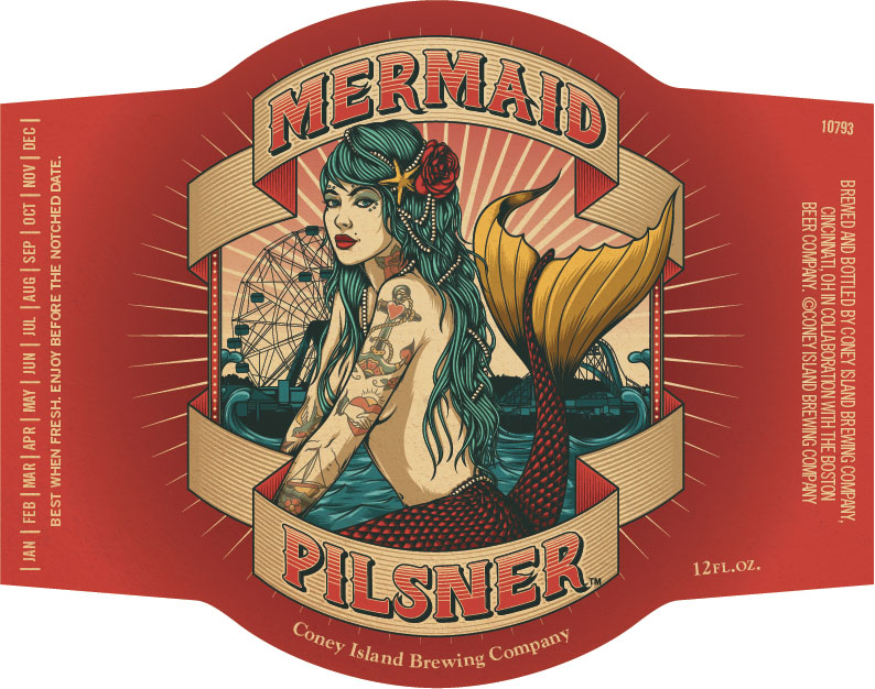 Coney Island Mermaid Pilsner Logo